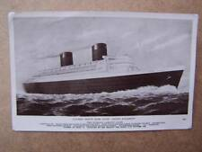 Ship Shipping Ocean Liners Ferry's Boating Sailing Ship- The Queen Elizabeth