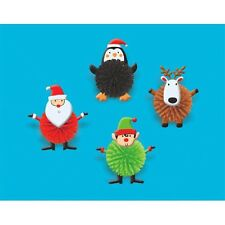 Christmas Woolies Party Favors 8 Pc (A395485)