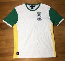 Rare 2012 Tommy Hilfiger World Cup Brazil T shirt Size XL Slim Fit Soccer