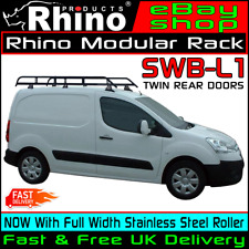 Citroen Berlingo Roof Rack Bars x2 Rhino Delta And Roller M-650 M-1000 2018-2019