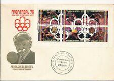 1976 Olympic Games Montreal, FDC Dakar Senegal.