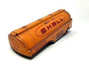 Pressed Tin SHELL Best Oil Tanker Trailer