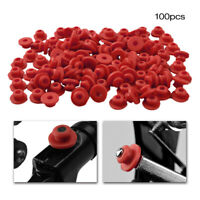 100 PCS Silicone Grommets Mat Pad Nipples For Tattoo Machine Needles Hot
