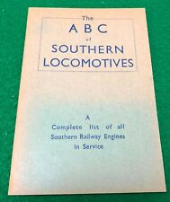 More details for ian allan abc southernlocomotives december 1942 first edition unmarked rare