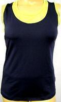 NEU Damen sportliches Top ärmellos grau anthrazit grün Stretch große Größe 42,48