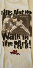 No Fear,T-Shirt,THIS AIN´T NO WALK IN THE PARK White  SammlerstückTOP LARGE  TOP