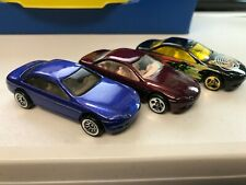 "HOT WHEELS "" LEXUS"" X3  WHEEL VARIATIONS  k"