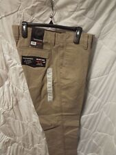 Weatherproof Men's The Utility Chino Relaxed Fit Color Khaki Size 38W X 32L NWT
