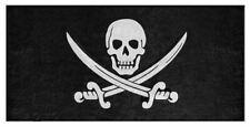 New CALICO JACK Bath or Beach Towel, Skull and Cutlass Pirate Jolly Roger Symbol
