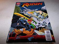 SIGNED MIKE WIERINGO ROBIN #31 DC 1ST PRINT BATMAN'S CRIME FIGHTING PARTNER
