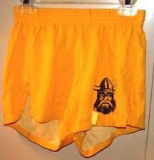 Vintage retro V cut  Dodger pe gym shorts Deveau Trojans Jr high small 28-30