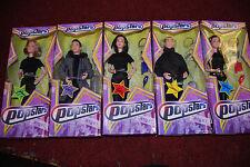 1990's Set of 5 Hearsay Collectable Retro Vintage Dolls Popstars Whole Set