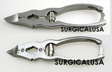 Toenail Nippers Double Action Sharp Cutting Edge Size 6 Inch Pack of 2