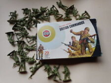 1973 AIRFIX 132 SCALE WW2 BRITISH commandos COMMANDO target box boxed SOLDIERS