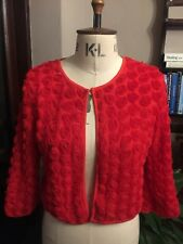 Vintage Style Red Rose Bolero Shrug Top 14 Christmas Party perfect with dress