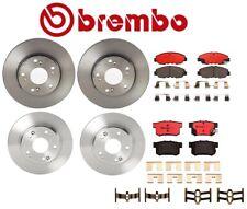 For Honda Civic 06-11 Front Rear Full Brembo Brake Kit Disc Rotors Ceramic Pads