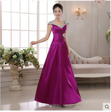 Long Evening Formal Party Ball Gown Prom Bridesmaid Dress