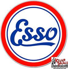 """(ESSO-1) 24"""" ESSO GAS PUMP GASOLINE OIL DECAL  1926-33"""