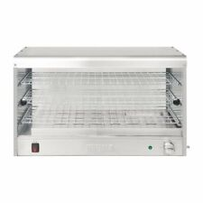 More details for buffalo economy stainless steel pie cabinet 60 pie capacity - dc859 cafe