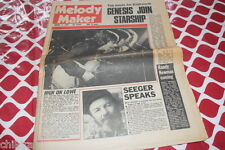MELODY MAKER MARCH 4, 78 NICK LOWE KATE BUSH DAMNED GENESIS BLONDIE 999 PUNK