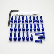 Pro-Bolt Aluminium Engine Bolt Kit - Blue EYA650B Yamaha YZF-R3 15+