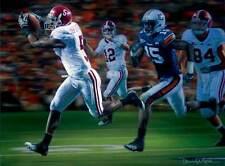 "Daniel Moore ""The Drive"" Alabama Football Lithograph Print"
