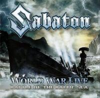 Sabaton World War Live Batalla de Baltic Sea (2011) 15-track CD Álbum Nuevo