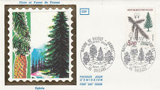 Enveloppe 1er Jour ORLEANS 21/09/1985 épicéa timbrée