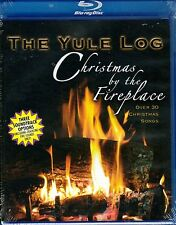 THE YULE LOG: CHRISTMAS BY THE FIREPLACE HD w/ HOLIDAY SONGS & SOUNDS (Blu-ray)