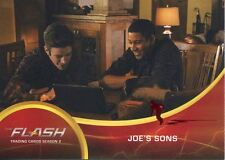 The Flash Season 2 Red Scarlet Speeder Stamped Parallel Base Card #44