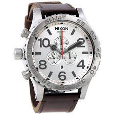 Nixon 51-30 Chronograph Silver Dial Mens Watch A1241113