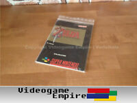 10x Game Bags / Sleeves Schutzhüllen für SNES Super Nintendo N64 Anleitungen