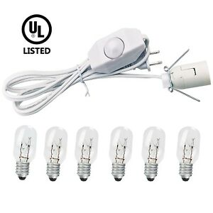 himalayan salt lamp replacement cord bulb Dimmer Switch White Incandescent Bulbs
