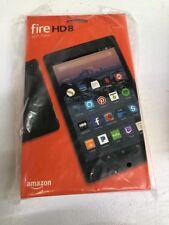 Amazon Kindle Fire HD 8 Tablet (16 GB w/Alexa 7th Gen 2017 Black) - New Sealed