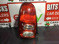 Perodua Kelisa Gx Rear/tail Light (passenger Side) 5 Door Estate 2002-2009