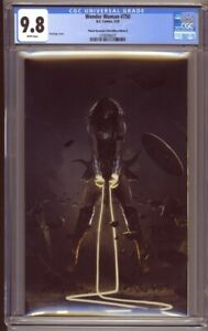 Wonder Woman #750 Planet Awesome Collectibles B Bosslogic Virgin Cover CGC 9.8