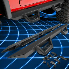 """3""""Black Running Board Nerf Bar+Step Pad for 2005-2017 Tacoma Extended Access Cab"""