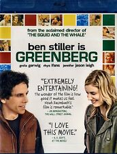 NEW BLU-RAY // Greenberg //Ben Stiller, Greta Gerwig, Rhys Ifans, Jennifer Jason
