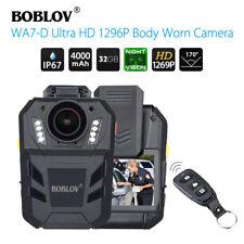 "BOBLOV WA7-D 1296P 32GB 2.0"" Police Body Worn Camera IR Night Vision Camcorder"