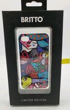 Romero Britto Hard Plastic Case For Apple Iphone 4 / 4S Limited Edition Gardens