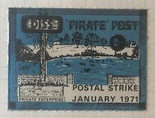 GB Postal Strike Stamps 1971 - Diss Pirate Post