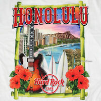 2017 HARD ROCK CAFE HONOLULU HAWAII City Tee SHIRT Diamond Head Men's S-2X NEW