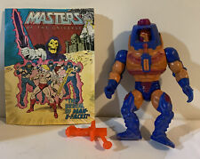 Man-E-Faces With Comic Book 1982 Taiwan HE-MAN Masters of the Universe