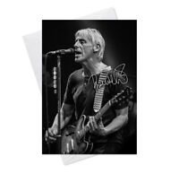 Paul Weller The Jam Style Council v1 Blank Birthday Greeting Card Any Occasion