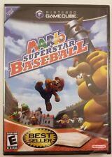 Mario Super Star Baseball Gamecube *Brand New/Sealed*
