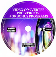 Pro DVD Creator Converter - Video Editor - DVD & Movie Maker CD Software + Bonus