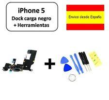 CABLE FLEX DOCK CONECTOR DATOS IPHONE 5 NEGRO NUEVO CARGA + HERRAMIENTAS