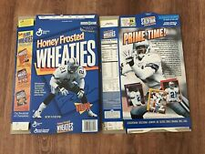 "DIEON SANDERS   ""PRIME TIME""   WHEATIES BOX  DALLAS COWBOYS"
