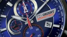 New Orient SpeedTech Chronograph Gent's watch STZ00001D Sapphire
