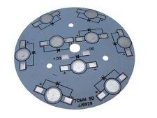 Aluminum Heat Sink Breakout 1Watt*9 Power SMD LED White 69mm - Pack of 2
